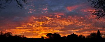 Zonsondergang suprême. van Corinne Welp