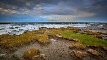 Wattenmeer nach Sturm und Regen von Jenco van Zalk