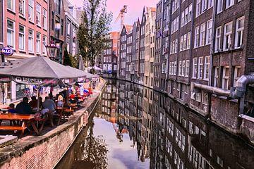 Le paysage de rue d'Amsterdam sur Marco & Lisanne Klooster
