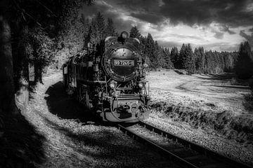 Der alte Dampfzug