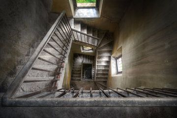 Historische Treppe. von Roman Robroek