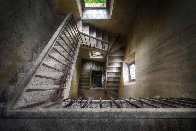 Historische trap van Roman Robroek