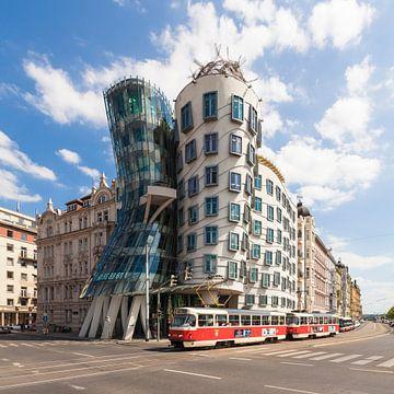 Tanzendes Haus in Prag von Werner Dieterich
