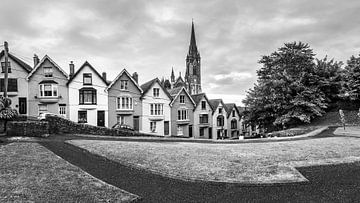 Kathedraal van St Colman in zwart-wit van Henk Meijer Photography