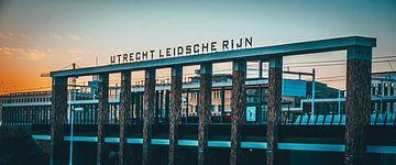 Gare d'Utrecht Leidsche Rijn sur de Utregter Fotografie