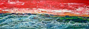 Zeegolven van Matthias Rehme