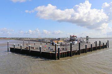 Hafen von Ameland von