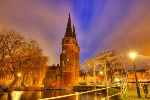 Sfeervol Delft in de avond