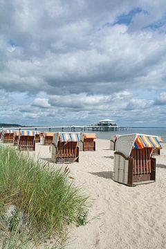 am Timmendorfer Strand an der Ostsee von Peter Eckert