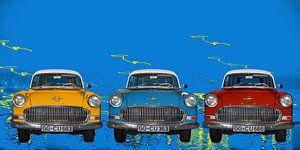 Opel Olympia Rekord in Pop-Art