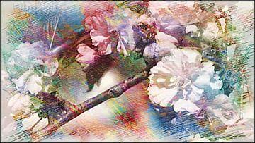 Blüten 01 von Margitta Frischat