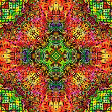 Mandala Liquidlight 4 von Arno Rollenberg