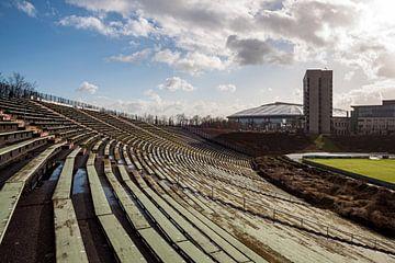 Het oude Parkstadion Gelsenkirchen, Schalke 04 van Martijn Mureau
