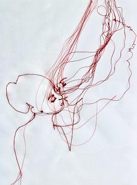'Idyllic Kiss' van Kim Rijntjes