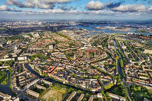 Het oude stadscentrum van Schiedam