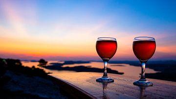 Wijn aan de kroatische kust van Karin Keesmaat Kijk-Kunst