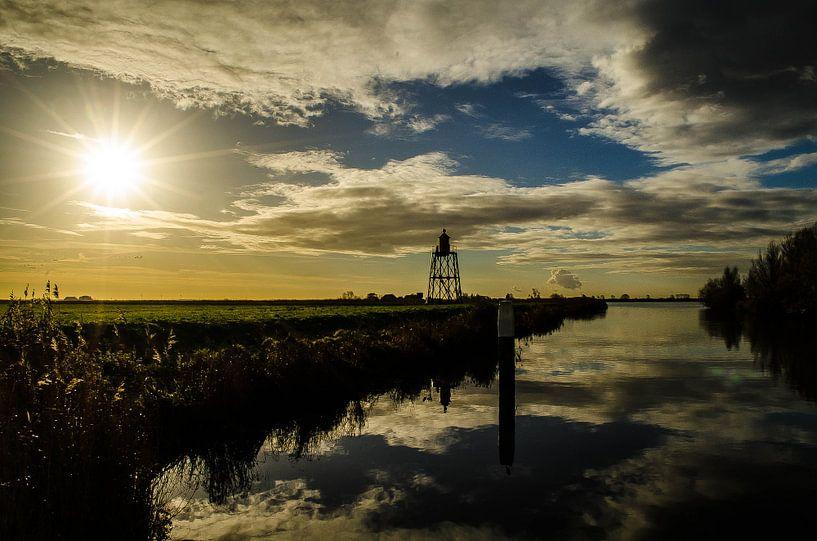Zonsopgang  in Nederland van olaf groeneweg