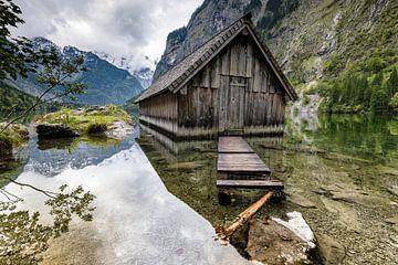 Boothuis aan de Obersee