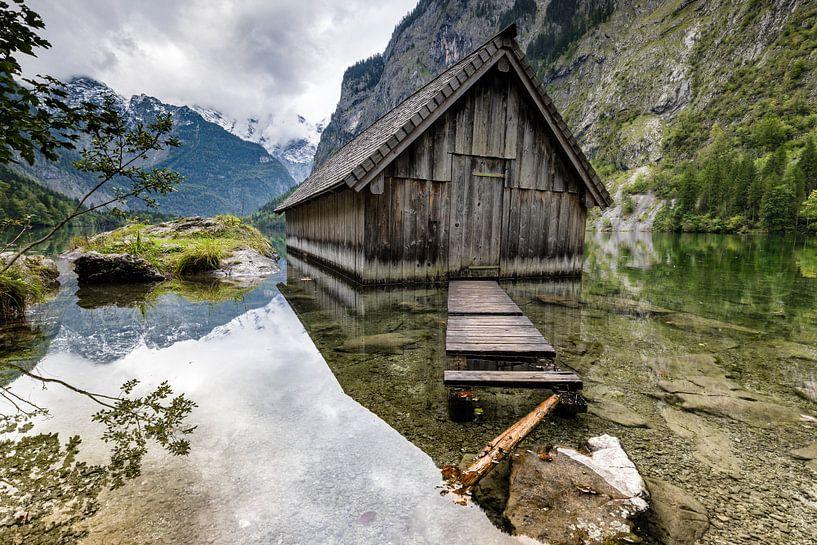 Hangar à bateaux à l'Obersee sur Tilo Grellmann | Photography