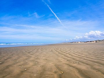 90 Mile Beach in Nieuw-Zeeland van Rik Pijnenburg