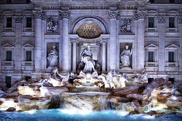 Trevi-fontein van