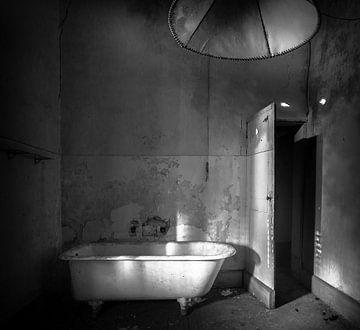 Bad op pootjes monochroom sur Olivier Van Cauwelaert