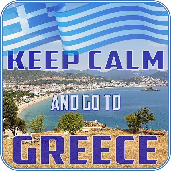 Keep CALM and go to GREECE von ADLER & Co / Caj Kessler