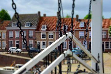 Heusden in miniatuur van Paul van Baardwijk