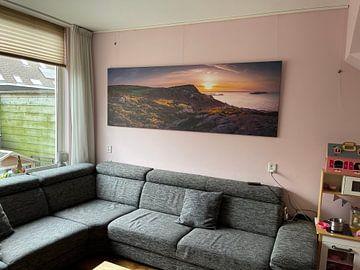 Kundenfoto: Panorama Howth bij zonsondergang von Ronne Vinkx