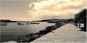 Koninklijk zicht op het bedevaartsoord Candelaria op Tenerife van kanarischer Inselkrebs Heinz Steiner