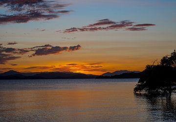 Sonnenuntergang See von Karin vd Waal