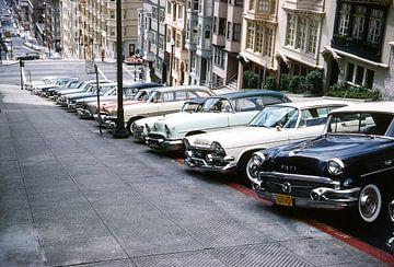 Vintage foto San Francisco von Jaap Ros