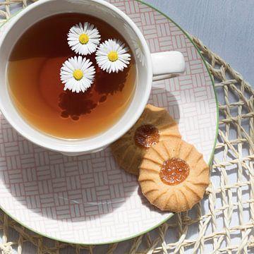 kopje thee sur Jacqueline Zwijnen