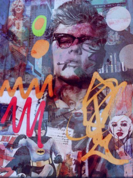 James Dean - Marilyn Monroe - Tragödie  van Felix von Altersheim
