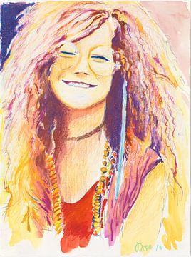 Janis Joplin....oh Lord , wont you buy me.... von Dorothea Linke