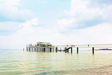 Timmendorfer Strand Seebrücke von Die Farbenfluesterin