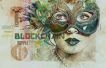 Erstes Bitcoin-Papiergeld von Rudy & Gisela Schlechter