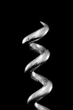 Korkenzieher in Schwarz und Weiß von DroomGans