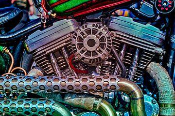 Harley Davidson blok van Freddy Hoevers