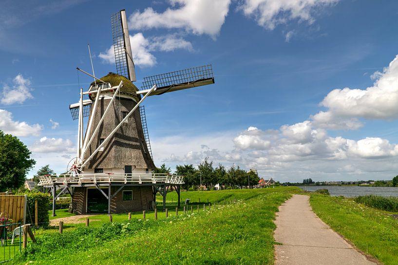 D'Olde Zwarver Kampen par une journée d'été sur Fotografie Ronald