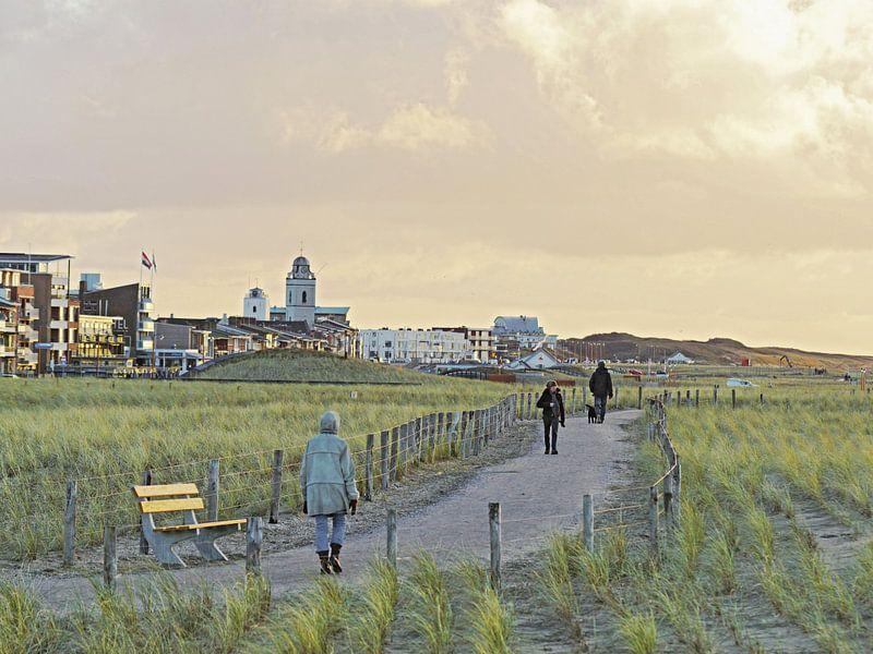 wandelpaden duinen  van Dirk van Egmond