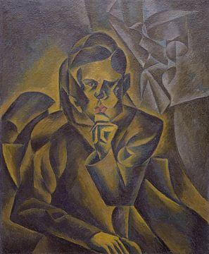 Bohumil Kubišta, Portrait de Jan Zrzavý - 1912 sur Atelier Liesjes