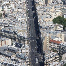 Parijs van bovenaf van Simone Meijer