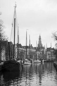 Hoge der A in Groningen van