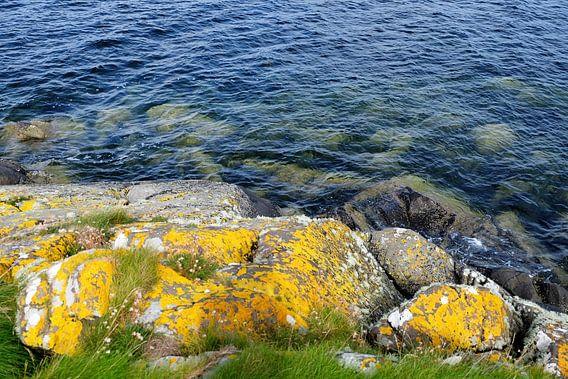 Schotland, de zee bij Isle of Bute