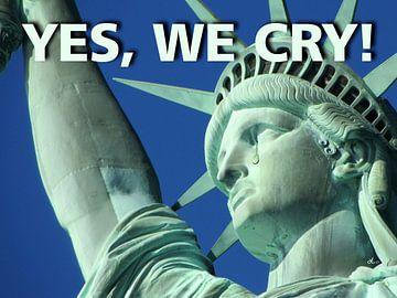 Vrijheidsbeeld: Ja, we huilen! van Dirk H. Wendt