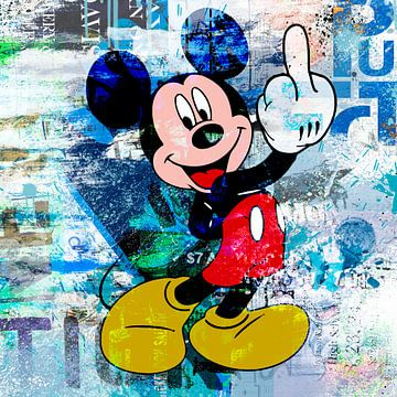 Mickey Finger van Rene Ladenius Digital Art