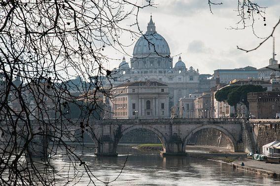 sint pieter rome - vaticaanstad  van Erik van 't Hof