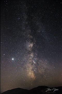Melkweg Sardinië van Joris Pijper