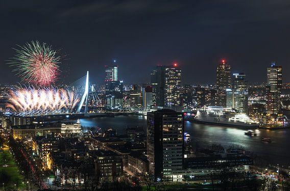 Nationaal Vuurwerk 2018 in Rotterdam